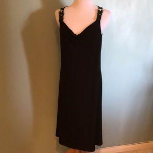 Michael Kors buckle sleeveless dress